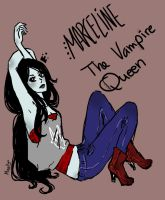 Marceline, The Vampire Queen by Joanna97