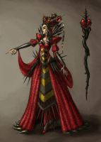 Red Queen by Niki-UK