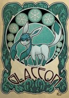 glaceon by ASTROPUNCH