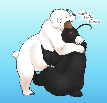 Floof Hugs by Lilly-moo