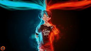 Luffy : am i good boy by B-L-HARBI