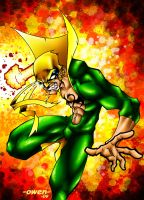 IRON FIST Colored by Dreekzilla