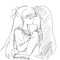 minako and rei 3 by Rhodonite