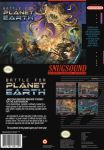 Battle For Planet Earth - Front and Back Cover by dakael