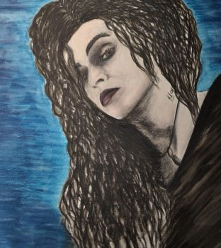 Bellatrix Lestrange by IrisGrass