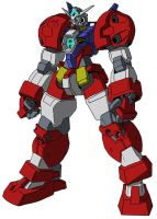 AGE-1T Gundam AGE-1T Titus by unoservix