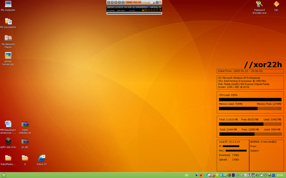 XP Desktop by xor22h