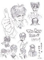 Many faces of Nakatsu by nolongerfunctioning