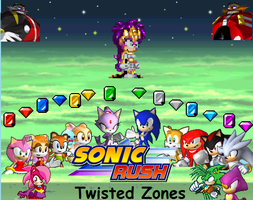 Sonic Rush Twisted Zones by JFerral