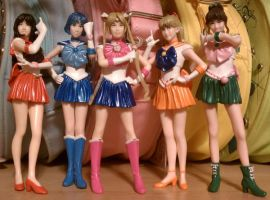 PGSM Super Real Figures by SakkysSailormoonToys