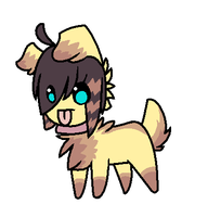 Adoptables 35 points puppy by skuIIy