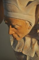 'Fool' finished detail by JulieSwanSculpture