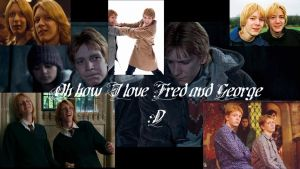 Fred and George Wallpaper by princessofthedark77