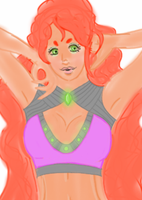 Starfire (unfinished) by Mallykins