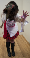 Zombie School Girl 23 by Angelic-Obscura
