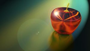 Glass Apple Thingy by All4Sparta