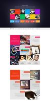 XTREAM - Metro Style Single Page Creative Theme by wnabcreative