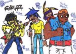 Gorillaz by BlueStrike01