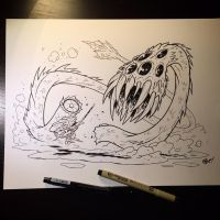 Inktober Day 1 by OtisFrampton