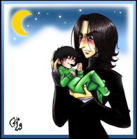 Snape and Edward by Patatus202