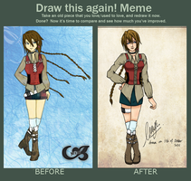 Before and After Meme attempt by mayahabee