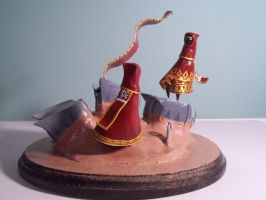 Journey sculpture by Krinkee