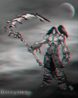 Death Anaglyph by Geosammy