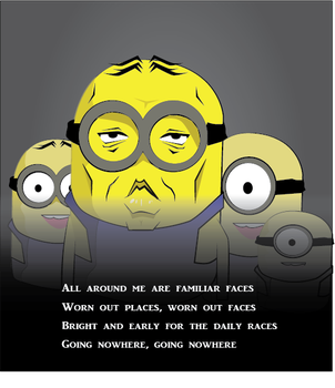 Minion by Rkdailey