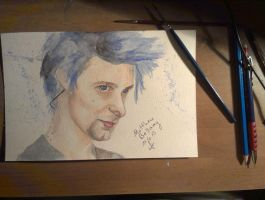Matthew Bellamy by ofir98