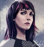 Johanna Portrait by Katay
