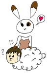 Robot Bunny Sheep Joke 01 by Artbrowser909