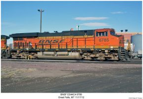 BNSF ES44C4 6785 by hunter1828