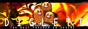 [signaturereq] Diglett by rebeccaangoo
