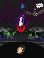 Kratt PKMN Rangers- VS Darkrai by Okamiminoru