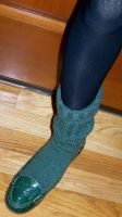 Nadia's Pretty Penny Loafers and Green Wool Socks by peerlesspenny