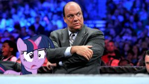 Twi and Paul Heyman by RicRobinCagnaan