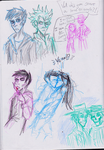 SP Mortal Coil sketches by icelandicghost