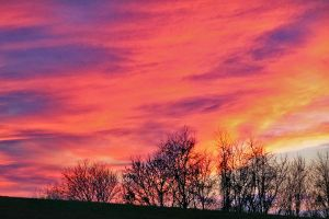 The Sky on Fire V by touch-the-flame