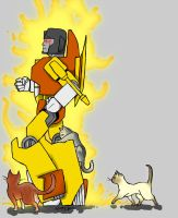 Sunstorm and cats by Underbase