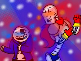 Drop Pop Candy (Sans and Papyrus) by YaoiLover113