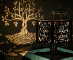 Pranaya Design Tree of Life Shadow Lamp Prototype by pranayadesign