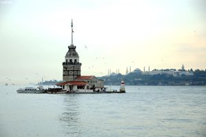 Maiden tower by canbayram