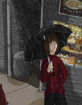 Rainy Nighttime stroll by Shanoon8
