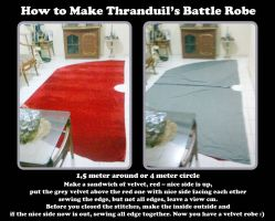How to make Thranduil's Battle Robe by seawaterwitch