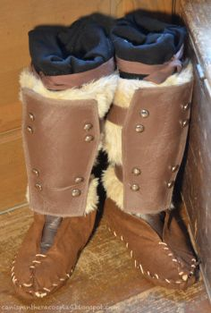 Stormcloak Fur Boots by SeanDonnanArt