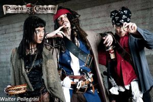 Capitan Jack Sparrow - Pirates Of The Caribbean by LordProtoMan