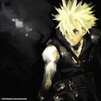 cloud strife by takuro-shiro