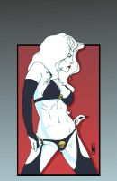 Lady Death Art Deco Cover by MDiPascale