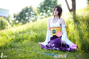 Yuna - Thinking of Tidus by SoraPaopu