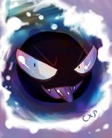 how.... Gastly by COLAxPEPSI